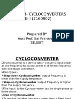 Cyclo Converter