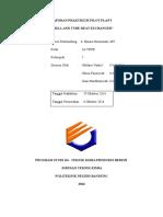 [ Fix Pilot Plant] Laporan Shell and Tube