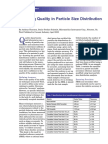 Ensuring Quality in Particle Size Distribution Analysis-SATURN