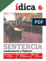 SENTENCIA condenatoria a Fujimori