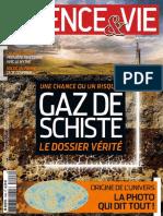 Gaz de Schiste Science Et Vie 2013