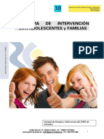 Programa de Intervencion Con Menores, Adolescentes, Jovenes y Familias