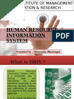 Advantages of HRIS