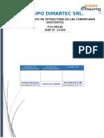Informe - Desmontaje de Estructuras