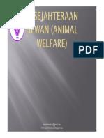 Pertemuan X & XI_Animal Welfare