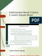 Enfermedad Renal Crónica y Lesión Aguda Renal