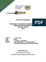 Go Green Prasekolah KPM Negeri Perak 2016