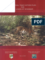 A National Tiger Action Plan for the Union of Myanmar