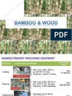 Bamboo Equipment