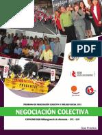 Cartilla de Negociacion Colectiva