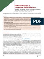 Videostroboscopy in Laryngopharengeal Reflux