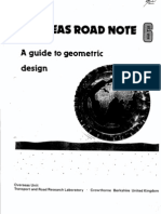 A guide to geometric design (1988)[1] pavement