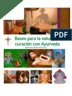 Bases para la salud y la curación con Ayurveda, Marcus de Oliveira, D.pdf