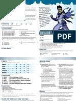 Masks - Character Sheet