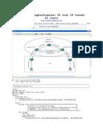 Belajar Mengkonfigurasi IP Over IP Tunnel Di Junos