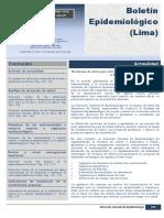 Boletin Epidemologico 2015 Peru