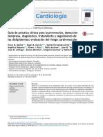 GPC Dislipemias- Colombia 2015