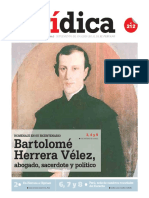 BARTOLOMÉ HERRERA VÉLEZ abogado, sacerdote y político