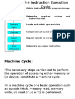 Machine Cycles