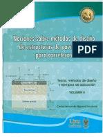 Nociones sobre métodos de diseño de estructuras de pavimentos para carreteras V2 - Higuera.pdf