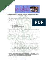 Valores y Comportamientos De los Jovenes de Hoy Donostia 2002