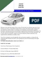 Volvo S70 Owner's Manual