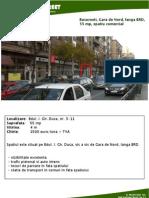 Bucuresti Gara de Nord, In Dreapta BRD, 55 Mp