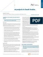 Construction and Projects Saudi Arabia Overview