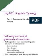 Typology 1