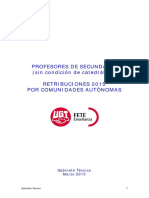 GAB Retribuciones Publica Secundaria Ccaa 2015