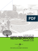 Forest Park Southeast Neighborhood Vision - 2015 (Park Central Development)