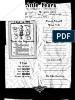 Little Fears - Character Sheet