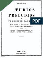 La Escuela de la Guitarra_Libro 5 [Estudios y Preludios de Francisco Tarrega].pdf