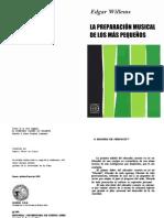 WILLEMS, E. - La preparación musical de los más pequeños.pdf
