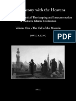 IPTSTS 055-I - David A. King - In Synchrony With the Heavens, Volume 1_Studies in Astronomical Timekeeping and Instrumentation in Medieval Islamic Civilization (Studies I-IX).pdf