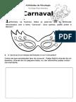 Atividade Carnaval