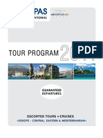 Kompas 2011 Escorted Tours with Guaranteed Departures