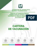 Cartera de Vacunacin. Mayo 2015