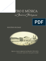 01 ROGÉRIO BUDASZ - Teatro e Música Na America Portuguesa - Capítulo 6 - Gênero e Raça