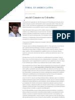 Reseña del Catastro en Colombia