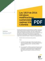 Tax Alert - Reforma Tributaria Ley 1819 de 2016 (2)