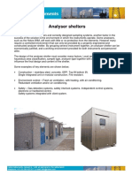 Analyser Shelters