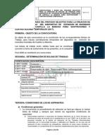 Convocatoria Interinos 2017 Rectificado Titulacin