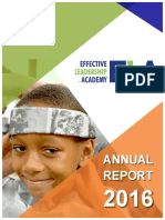2016 Annual Report - Effective Leadership Academy