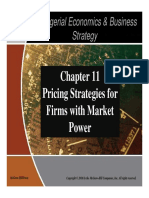 Chapter 11 Pricing Strategy