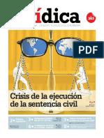 CRISIS DE LA EJECUCIÓN DE LA SENTENCIA CIVIL