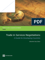 Trade in Services Negotiations