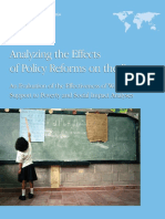Analyzing the Effects of Policy Reforms on the Poor