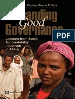 Demanding Good Governance