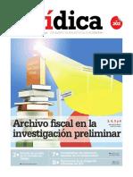 ARCHIVO FISCAL EN LA INVESTIGACIÓN PRELIMINAR